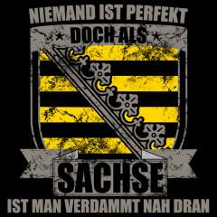 Perfekter Sachse Geschenkidee bedruckt Wappen
