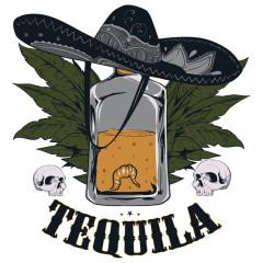 Tequila & Strohhut Mexiko Sombrero Tabak