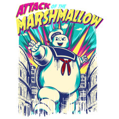 Angriff des Marshmallow-Mannes