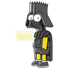 Comic Shirt: Bart Vader