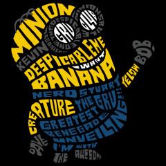 Schriftzug - Minion