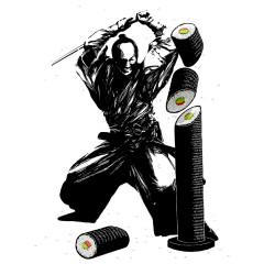 Sushi Slasher Samurai