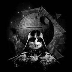 Dark Lord Katze (weiß)