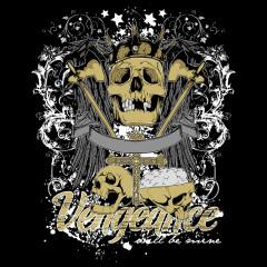 Vengeance - geflügelter Totenkopf