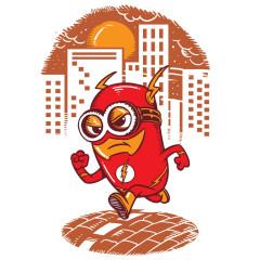 Der Rote Minion-Blitz