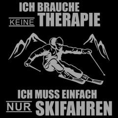 Skifahren ist Therapie
