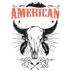 American Heritage Skull