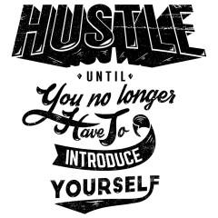 Motivation Shirt Hustle