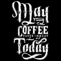 Spruch Shirt: Coffee taste