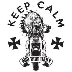 Keep Calm Biker
