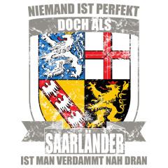 Perfekter Saarländer Wappen