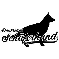 Rassehund: Deutscher Schäferhund (schwarz)