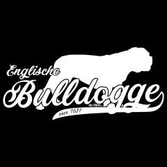 Hund: Englische Bulldogge (weiß)
