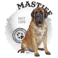 Rassehund Mastiff Foto