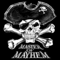 Piratenschädel - Master of Mayhem