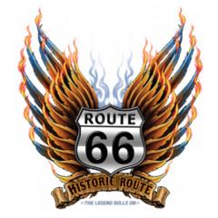 Route 66 - Flügel und Flammen