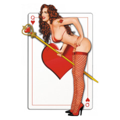 Pin-Up: Queen of Hearts
