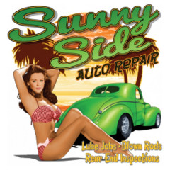 Pin-Up: Sunny Side Auto Repair