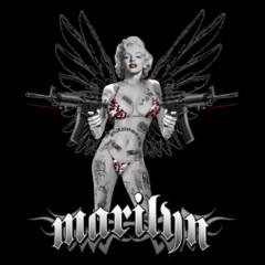 Pin-Up: Marilyn mit Sturmgewehren