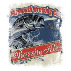 Angler-Motiv: Bassin Ale - Bigmouth Brewing