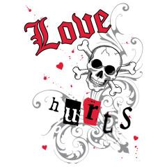Love Hurts / Herz im Tattoo Style