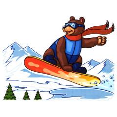 Boarding Bear