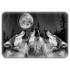 Three Howling Wolves