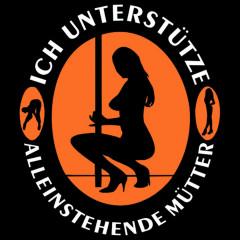 Fun-Shirt: Alleinstehende Mütter