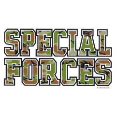 Special Forces Schriftzug