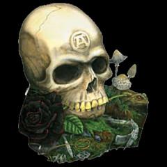 Alchemy Metal Wear Totenkopf
