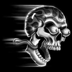 Schreiender Totenschädel - Shocking Skull