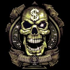 Original Gangster Dollar Totenkopf