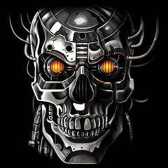 Roboter Schädel