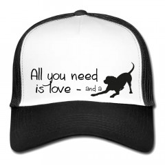 Mesh Cap - All you need is a dog