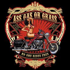 Pin-Up: Ass Gas Or Grass