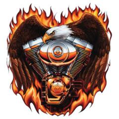 Eagle Flames Twin Engine