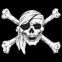 Pirat Jolly Roger Schädel