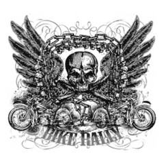Skull Bike Ralley