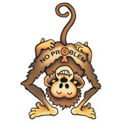 No Problem Monkey