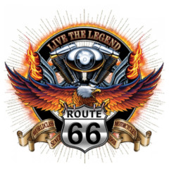 Route 66 - Live the Legend