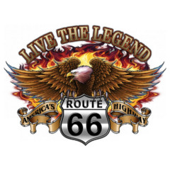 Route 66: Live the Legend - Brennender Adler