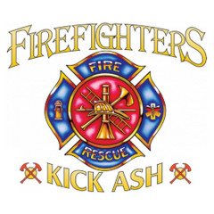 Fire Fighters kick ash