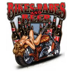 Bikes, Babes & Beer - Pin-Up
