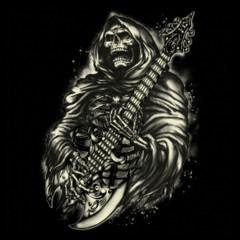 Reaper Guitar Black