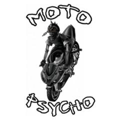 Moto Psycho - Skelett Biker