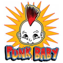 Punk-Baby Cool Comic Motiv