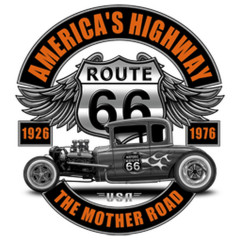 American Highway Hot Rod Route 66