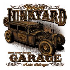 Hot Rod Motiv: Junk Yard Garage Rust never sleeps
