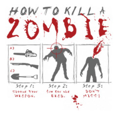 Gamer Motiv: How to kill a Zombie