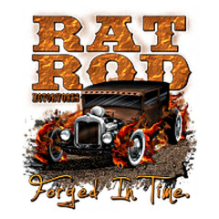 Hot Rod Motiv Rat Rod Motorworks